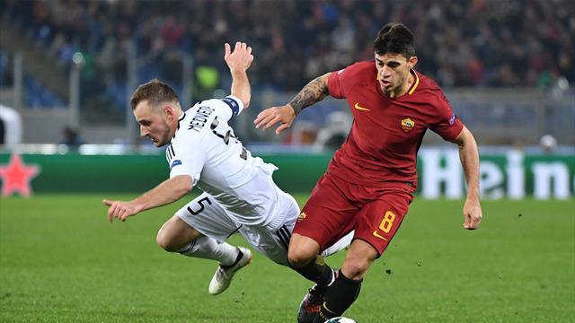 Le pagelle di Roma-Qarabag 1-0: Perotti è l'uomo del destino, applausi a Di Francesco