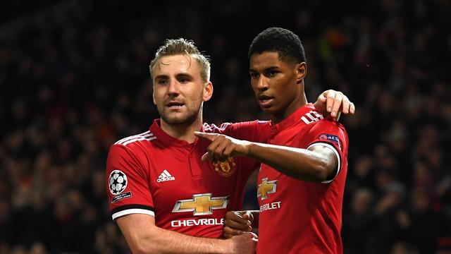 Man Utd top group thanks to Lukaku and Rashford