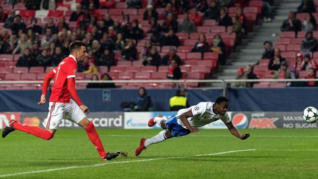 Benfica se va sin puntos de la Champions League