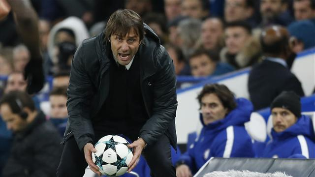 Chelsea's Conte fined for outburst