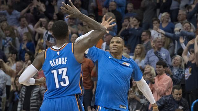I risultati della notte: Westbrook in tripla doppia, career-high per Beal, bene anche Toronto