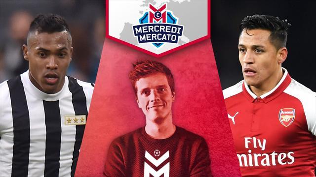 Alex Sandro à Chelsea plutôt qu'à Paris ? Revivez Mercredi Mercato