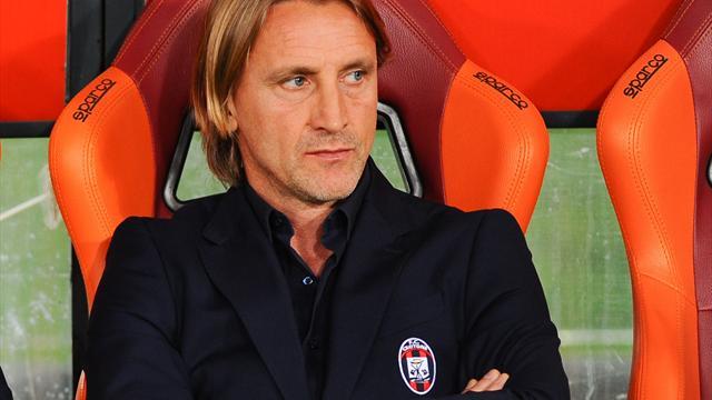 Crotone-Trainer Nicola zurückgetreten