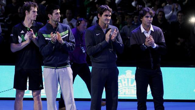 Федерер, Надаль, Маррей и Джокович заявились на Australian Open
