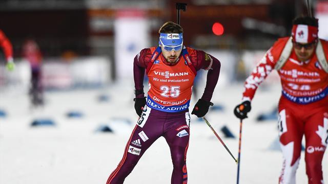 Шипулин попал в состав сборной России на этап в Хохфильцене, Виролайнен – нет