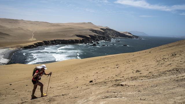250 km dans le désert pendant 7 jours : l'ultra-trail dompté par Nathalie Mauclair