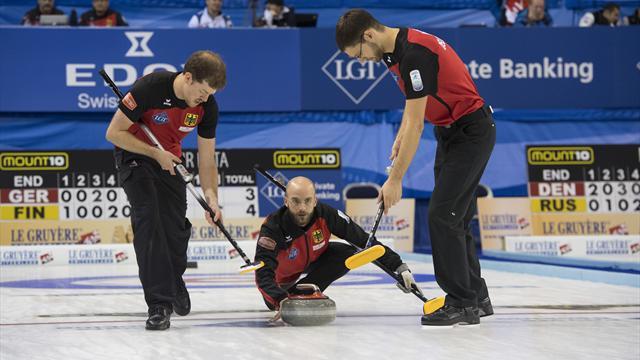 Erste Siege: Curling-Teams bewahren sich Chance auf Olympia
