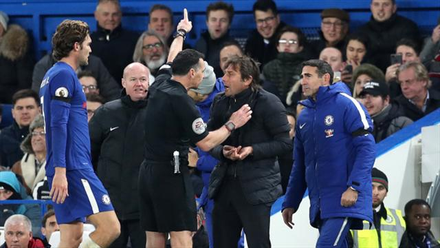 Chelsea boss Antonio Conte handed FA fine after berating referee in Swansea game