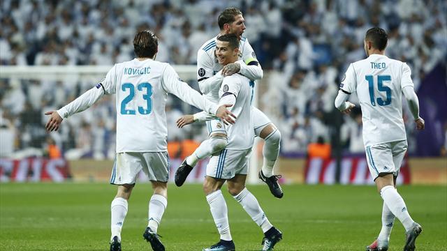 Une merveille de frappe enroulée et Ronaldo entre (un peu plus) dans l'histoire de la C1