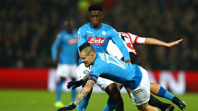 Naples et Leipzig restent à quai et joueront la Ligue Europa au printemps