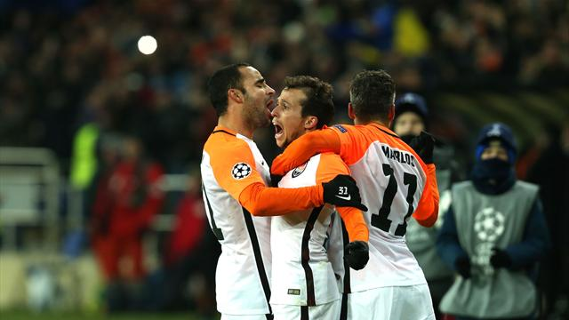 Shakhtar Donetsk vs Man City, Champions League