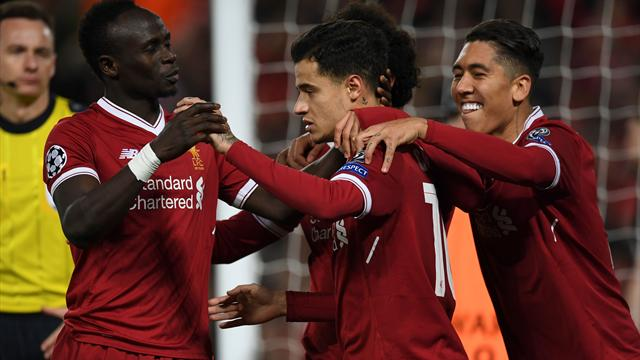 Liverpool's Fab Four smash seven past Spartak to top group