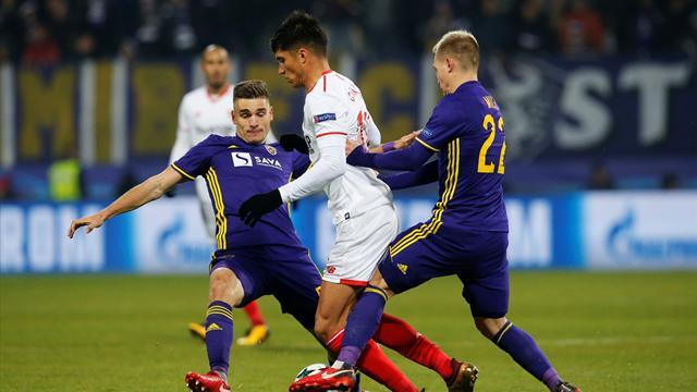 Sevilla through after Maribor draw