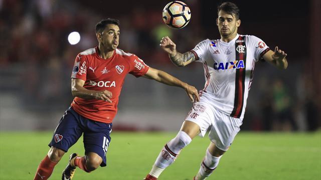 Copa Sudamericana finalinde avantaj Independiente'nin