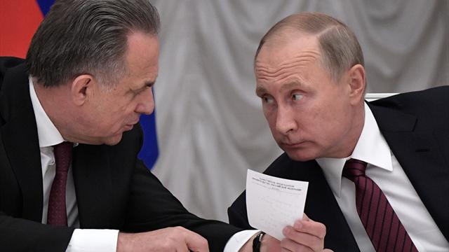 Mutko, Putin make vow of support for 'neutrals' in PyeongChang