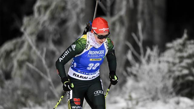 Biathlon: Erkrankte Preuß fehlt in Hochfilzen
