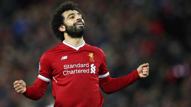 Salah élu meilleur joueur par les journalistes
