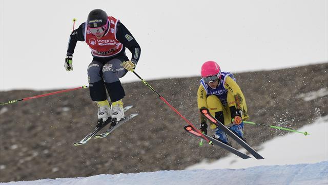 Skicross: Olympiahoffnung Zacher Zweite beim Weltcup-Auftakt