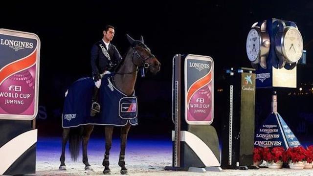 La coupe du monde longines de saut d obstacles fait une halte la corogne equitation eurosport - Coupe du monde de saut d obstacle ...