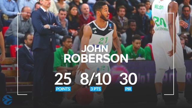 John Roberson MVP della 7a giornata di Eurocup: il rookie insegue Tony Parker