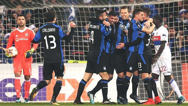 L'Atalanta scrive la storia: 1-0 al Lione e primo posto nel girone