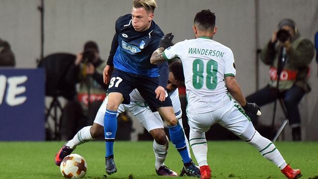 Hoffenheim verabschiedet sich mit Remis aus der Europa League