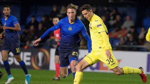 Europa League, Villarreal-Maccabi Tel Aviv: El trámite acaba en derrota (0-1)