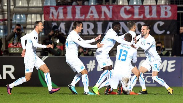 Non si sblocca il Milan di Gattuso: notte fonda per i rossoneri che perdono 2-0 con il Rijeka