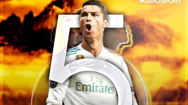 Cristiano se adjudica su quinto Balón de Oro para igualar a Leo Messi