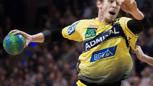 Handball: Löwen mit lockerem Sieg, Hannover rettet Punkt