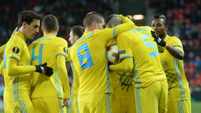 «Астана» впервые в истории пробилась в плей-офф