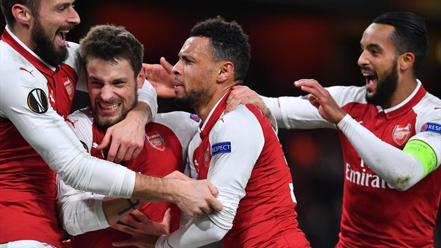 Arsenal hit BATE for six to end group stage in style