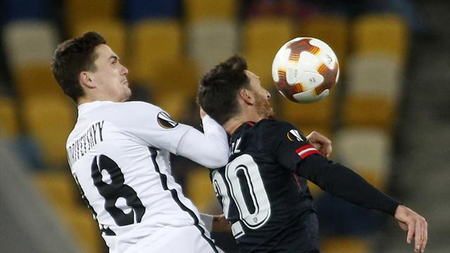 Europa League, Zorya-Athletic: Los leones pasan primero (0-2)