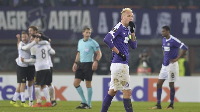 Arsenal in Torlaune, Fink mit Wien gescheitert