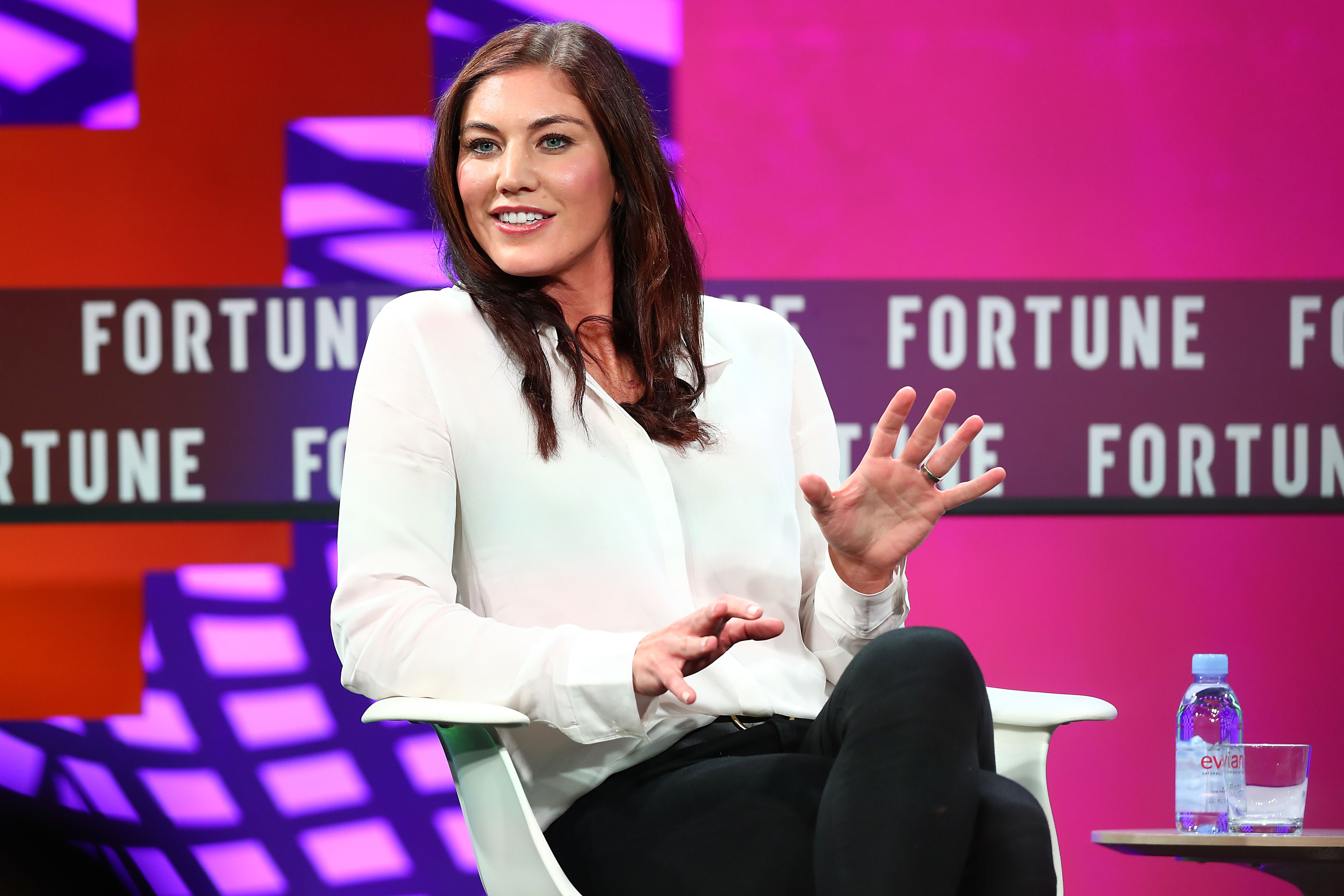 Hope Solo will kandidieren
