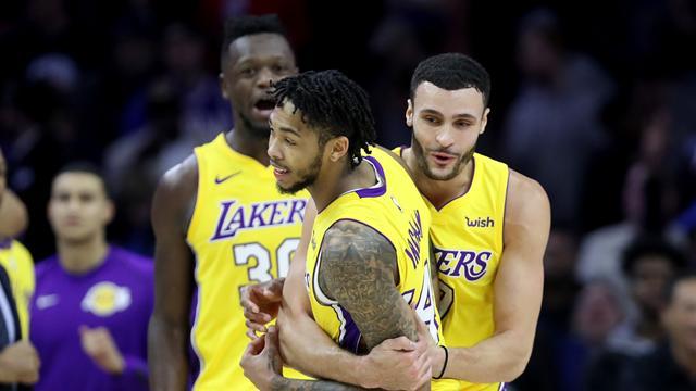 Sixers-Lakers, une belle finale NBA… dans cinq ans?
