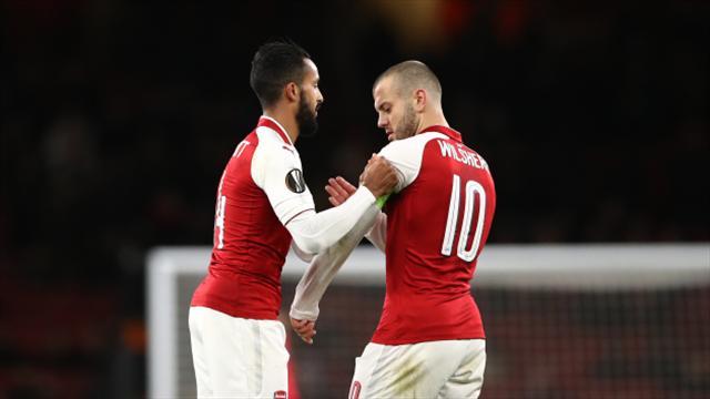 Arsene Wenger hails 'stylish' victory as Arsenal hammer six past BATE Borisov