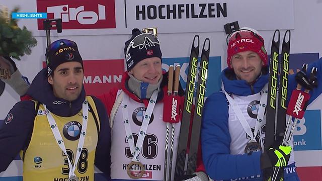Biathlon: Victoria de Johannes Boe; Martin Fourcade, segundo