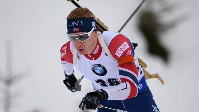 Boe makes it a World Cup double in Hochfilzen