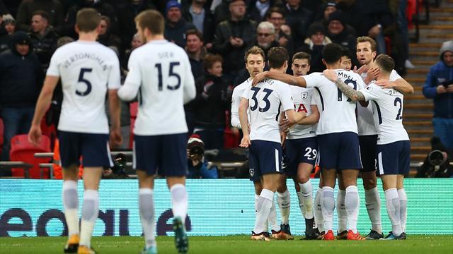 Fin de série pour Tottenham, vainqueur de Stoke City