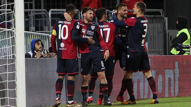 Pavoletti riaccende la speranza, 3-1 tra Samp e Cagliari (DIRETTA)