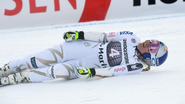 Vonn pulls out of Super-G race with back problem