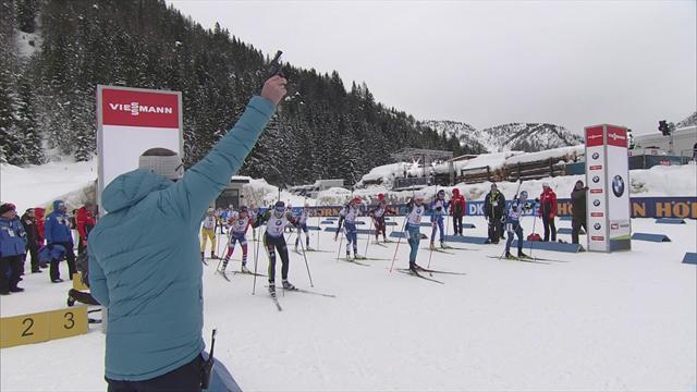 Highlights: Germany win IBU World Cup relay in Hochfilzen
