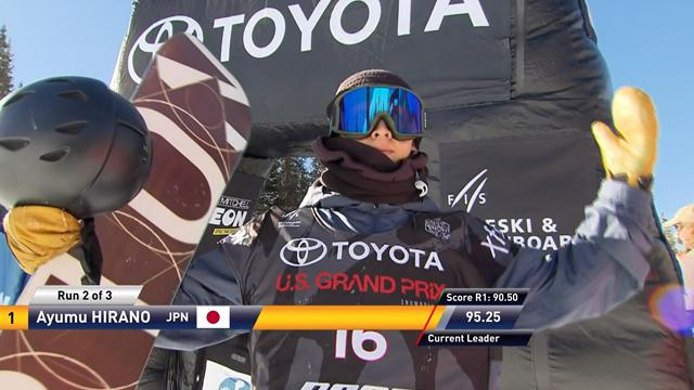 Ayumu Hirano batte Shaun White e vince la tappa di Copper Mountain