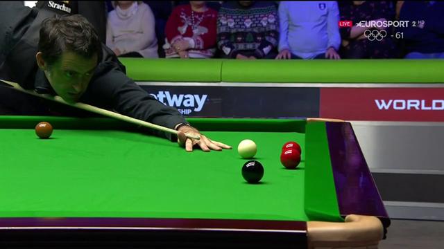 Ronnie O'Sullivan show: i colpi più belli della prima sessione della finale dello UK Championship