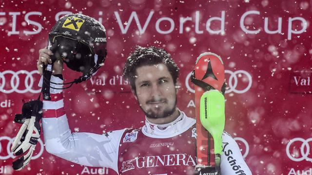 Hirscher's love affair with Val D'Isere continues