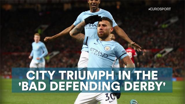 City triumph in 'bad defending' derby