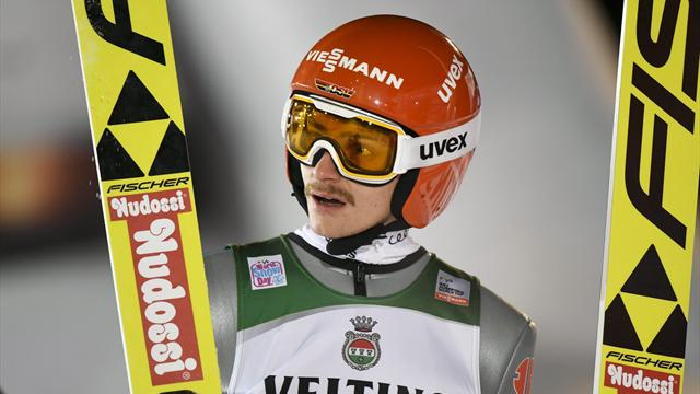 Freitag leaps to World Cup gold on home slopes
