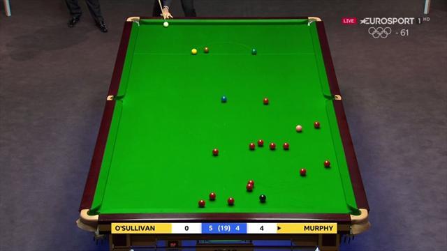 UK Championship: Con golpes así el Cohete O'Sullivan no encuentra rival