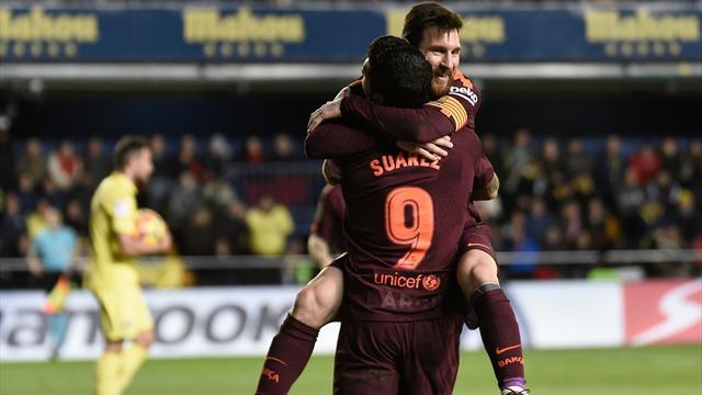 Barcelone a fini par faire craquer Villarreal